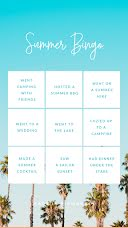 Summer Bingo - Instagram Bingo  item