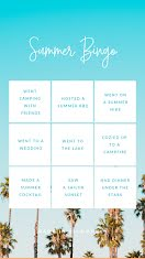Summer Bingo - Instagram Story item