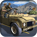 Military Jeep Parking Driving icon