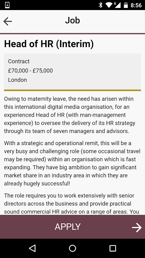 Grafton Haymes - HR Recruiter- screenshot