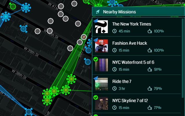 Inspired Ingress Mission Map Helper - Extore Space