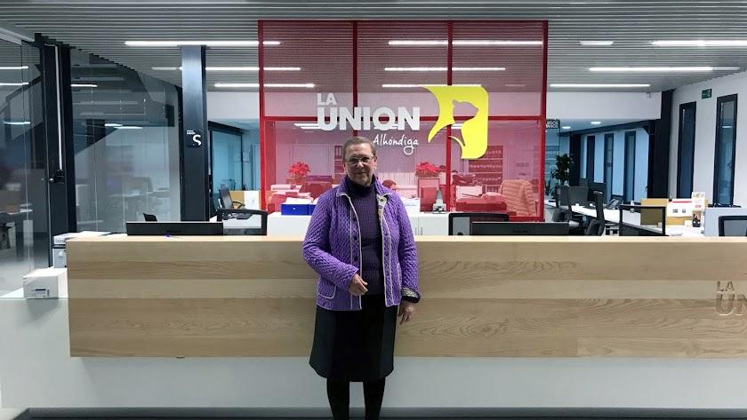 Una mujer preside la Alhóndiga La Unión; es la excepción