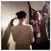 Photo: LFW - photographer working at Bora Aksu Fall 2013 show.  @fashiontv