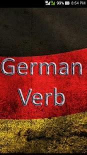 Easy German Verbs - náhled