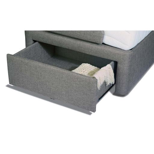 Sherborne Dorchester Adjustable Bed in Acapulco Grey