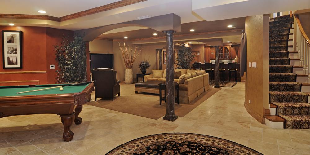 Basement Designers basement remodeling   custom basement design company