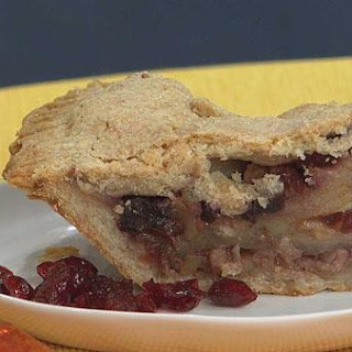 Apple and Dried Fruit Pie.