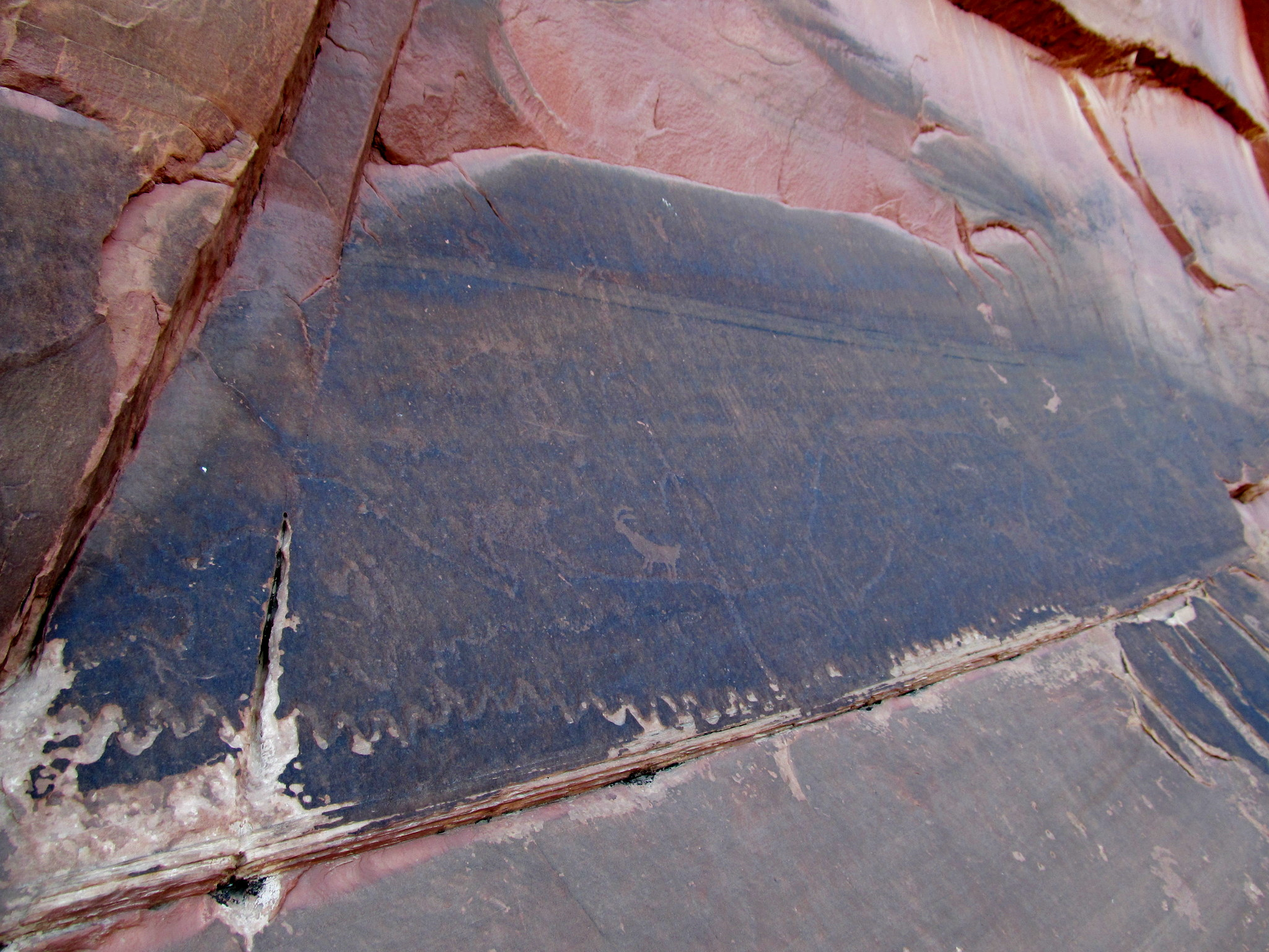 Photo: Another heavily patinated panel