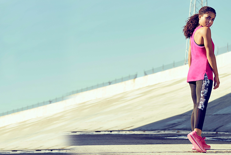 Refresh your workout with our new activewear collection