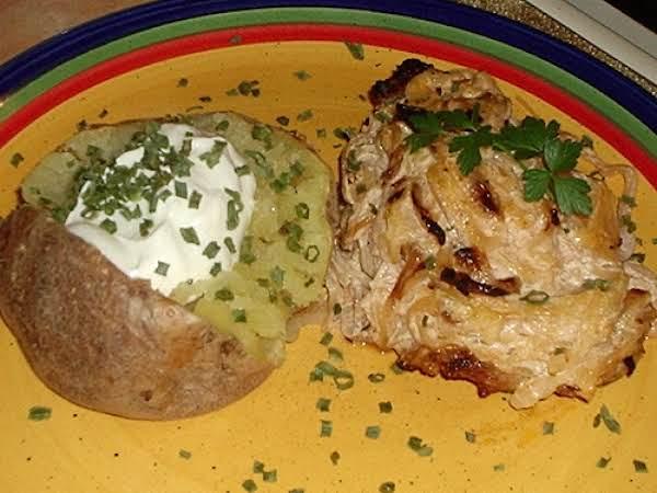 Sour Cream And Sauerkraut Pork Chops