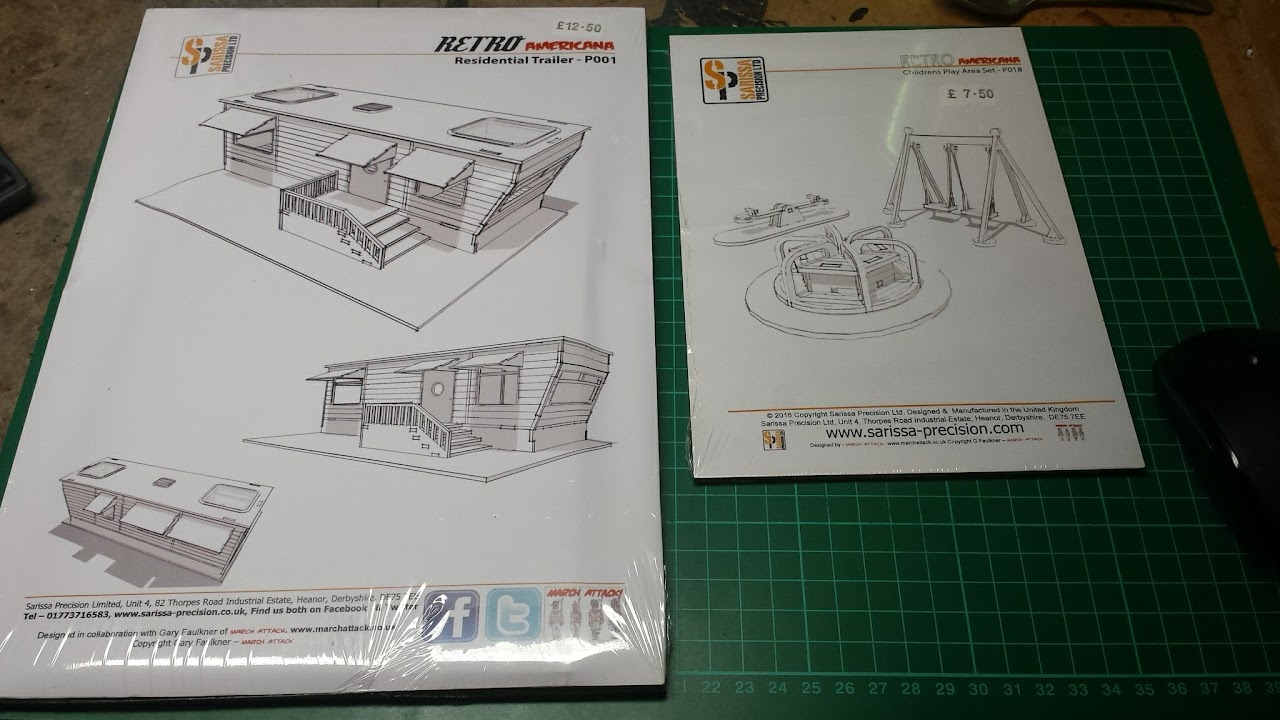 Build & Review: Sarissa Precision's Residential Trailer – 28mm MDF