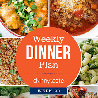 Skinnytaste Dinner Plan (Week 90).
