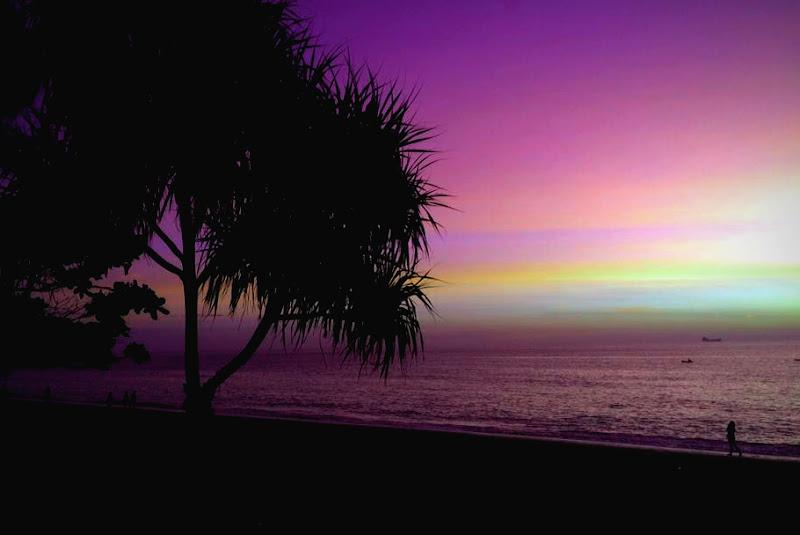 Sfumature naturali di viola al tramonto di Kamone