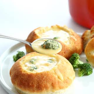 Creamy Gluten Free Broccoli Cheddar Soup.
