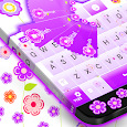 Flowery Keyboard icon