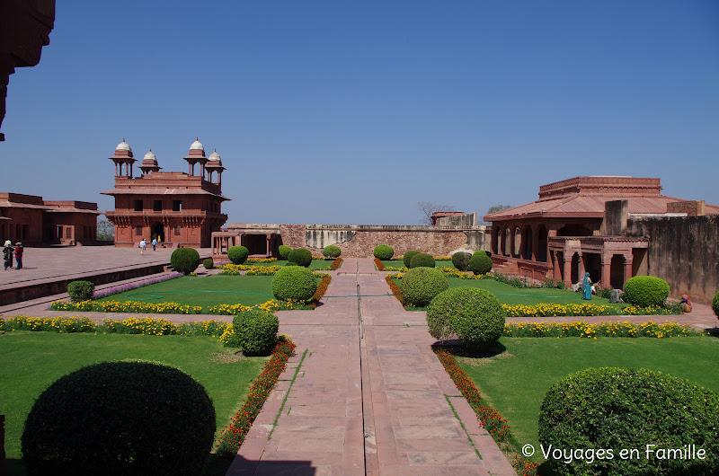 Vue du Rumi Sultanat, Fatehpur sikri