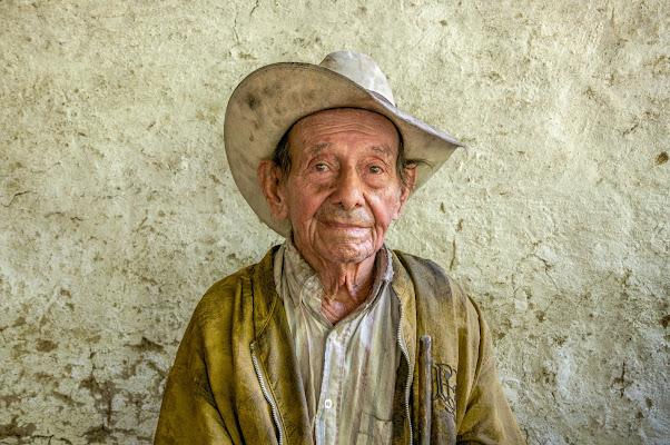 "Don Eliacer ""El Muerto"", San Agustin, Colombia 2012 di Cristhian Raimondi"