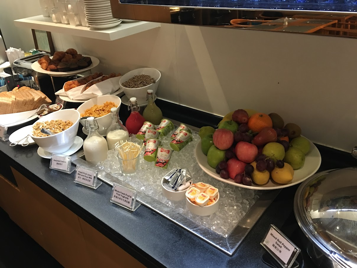 Breakfast spread at The Arrival