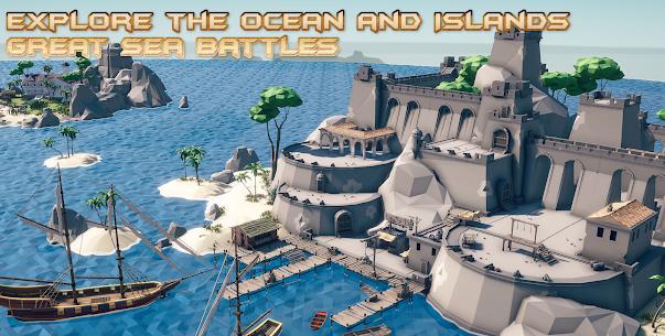 Sea of Bandits: Pirates conquer the caribbean MOD (No Ads) 1