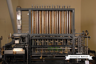 Photo: The Babbage Engine at the Computer History Museum in Mountain View, CA.