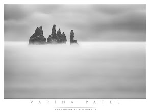 Photo: Our trip report for day 3 of our Iceland trip just went live on our blog. :) You can check out the details here: http://www.photographybyvarina.com/blog  I spent a good hour getting this shot how I wanted it on location - fighting with high winds, rain, ocean spray, and a long exposure. I'm happy with the finished product though. What do you think?  (I guess this also happens to work for #MonochromeMonday and #MoodyMonday. Not on purpose though! I'm not even sure I know how that's supposed to work.)