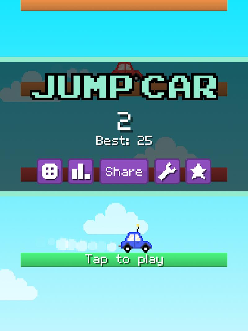 Скриншот Jump Car