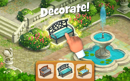 Gardenscapes - screenshot