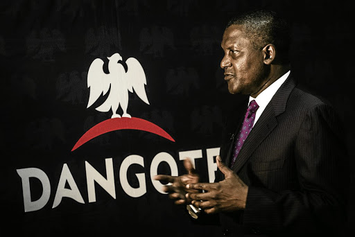 Nigerian businessman Aliko Dangote's. Picture: GETTY IMAGES