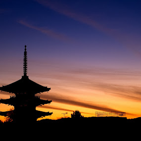 Kiyomizu Temple by Mann Renzef - Buildings & Architecture Places of Worship