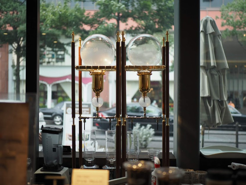 水出しコーヒーの器具