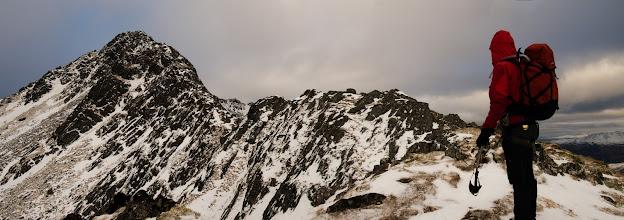 Photo: The Forcan Ridge on The Saddle (I/II)
