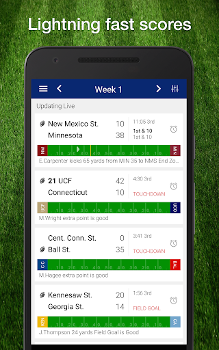 College Football Live Scores, Plays, Schedule NCAA photos 1