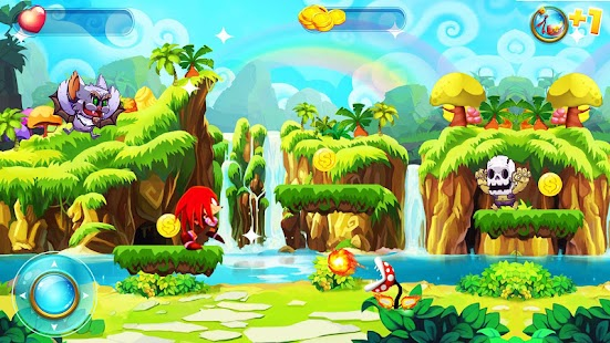 Super Speed knuckles Red Shadow Jump & Run - náhled