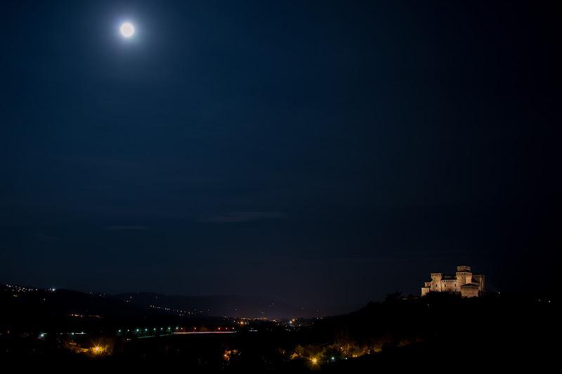 Torrechiara al chiar di luna di palvi72