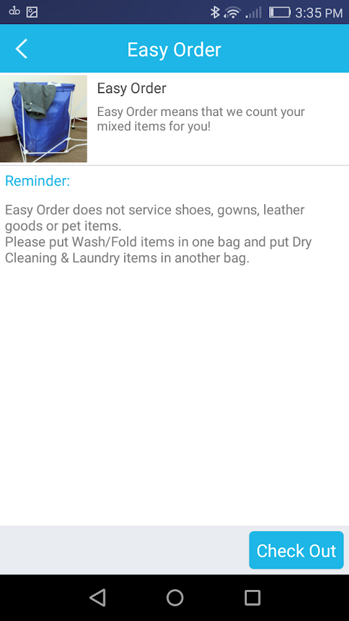 First Dry Clean- screenshot