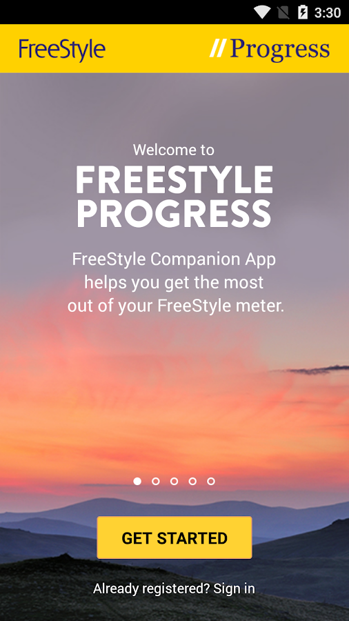 FreeStyle Diabetes Companion- screenshot
