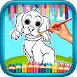 Cute Puppy Dogs Coloring Book icon