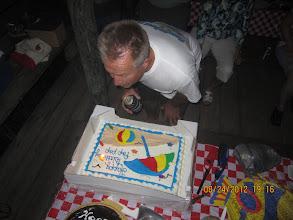 Photo: Bob's birthday.