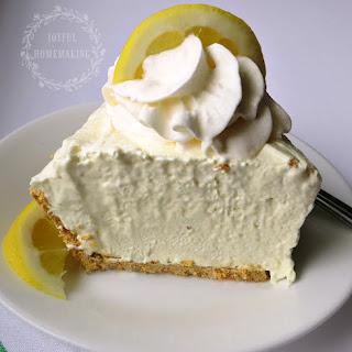 Icebox Lemon Pie.