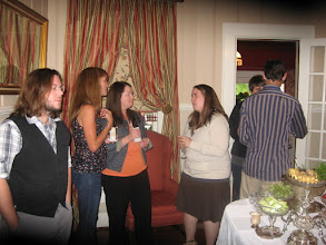 Photo: Graduate Student Reception, October 2011