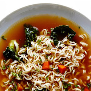 Easy Ramen Noodle Soup.