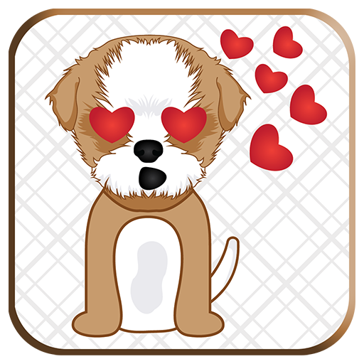Shih Tzu Emoji for WhatsApp