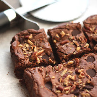 Rich Dark Chocolate Brownies - Gluten Free and Casein Free