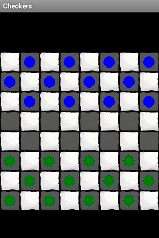Checkers for 2 Players