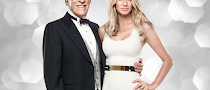 Tess Daly leads Sir Bruce Fo ...