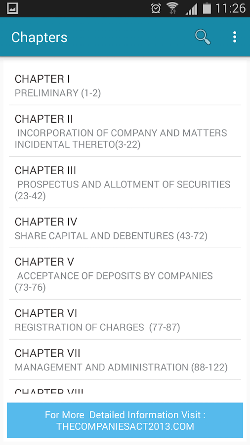 The Companies Act 2013 & Rules- screenshot