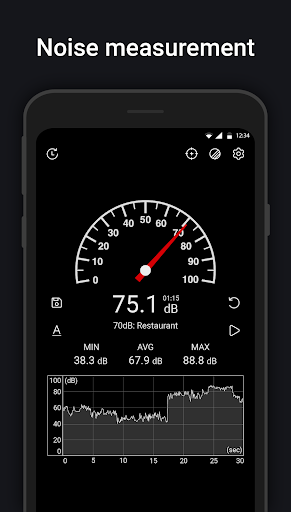 Sound Meter : SPL meter, dB meter, noise meter 5.2.1 screenshots 1