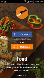 CityShor Discover Food Events screenshot 1