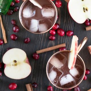 Cranberry Cider Irish Mule.