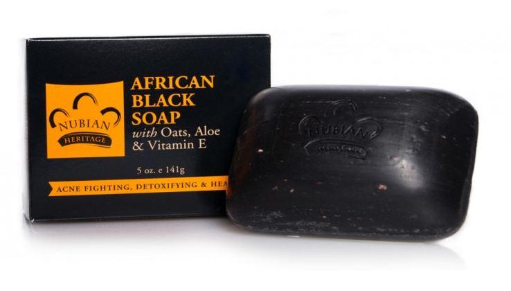 Чорне африканське мило Nubian Heritage,